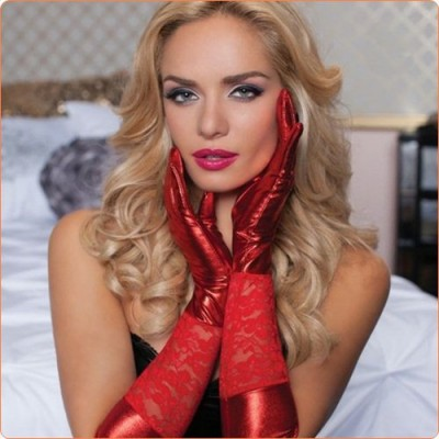Wholesale High Quality Lace Splicing Sexy Gloves