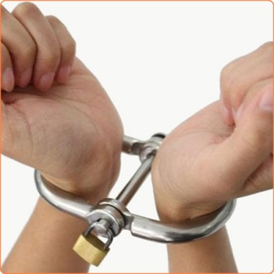 Wholesale Handcuffs with Brass Lock