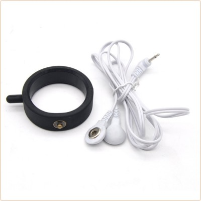 Wholesale Silicone Electric Shock C& B Ring - L