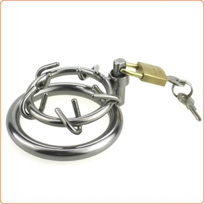 Wholesale Stainless Steel Crown of Thorns Chastity Device