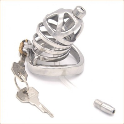 Wholesale Net Chastity Device Bend Ring With Cum Thru