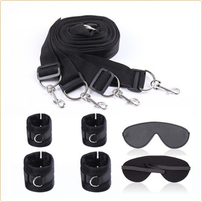 Wholesale Bed Bindings Restraint Kit With  Blindfold