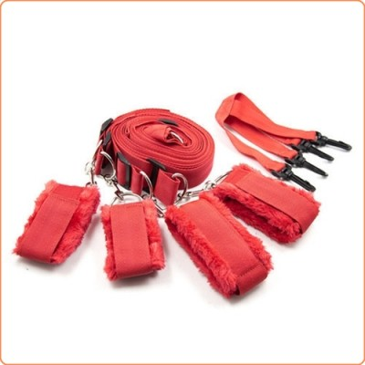 Wholesale Villus Bed Bondage Restraint Kit