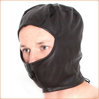 Wholesale Leather Open Face Hood