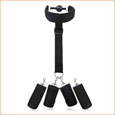 Wholesale Collar Neck Cuffs and Handcuffs Bondage Restraints