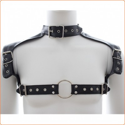 Wholesale Neck Collar Body Harness Leather Straps