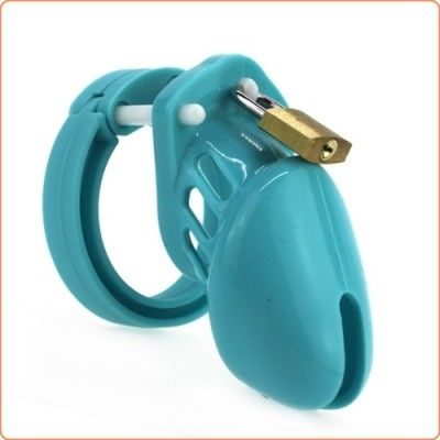 Wholesale Silicone CB6000s Chastity Devices In Blue