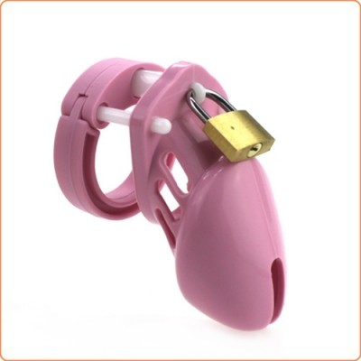 Wholesale Silicone CB6000s Chastity Devices In Pink