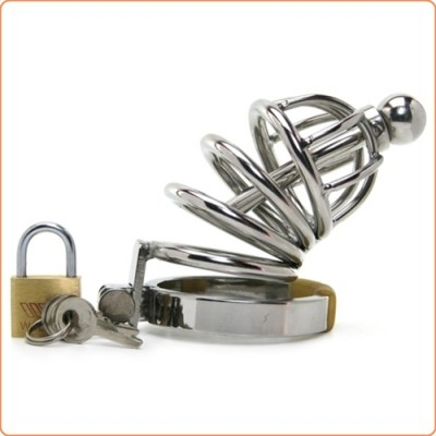 Wholesale Master Series Asylum 4 Stainless Steel Chastity Cage
