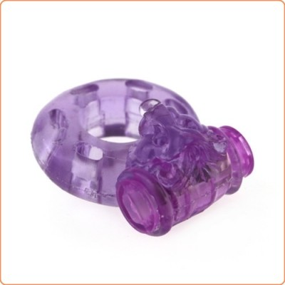 Wholesale Lion Jelly  Vibrating  Cock Ring