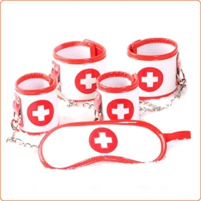 Wholesale Naughty Nurse Bondage Kit - 3 Pcs