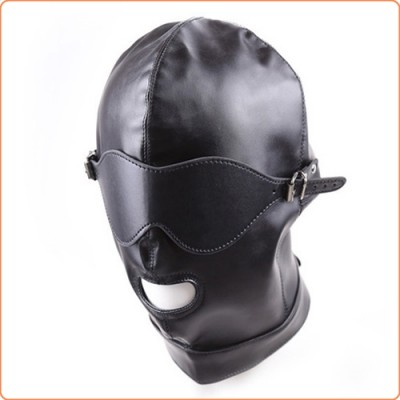 Wholesale Lacing Back Mouth Open Bondage Hood