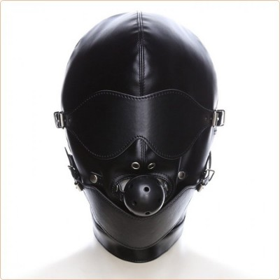 Wholesale Mouth Gag Full Gimp Hood