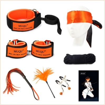 Wholesale Orange Color Bondage Kit