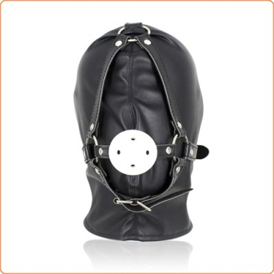 Wholesale Full Head Hood With Mouth Gag