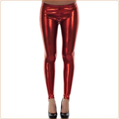 Wholesale New Bright Faux Leather Dancing Pants For Women