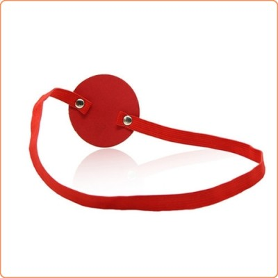 Wholesale One-Eyed Bondage Round Blindfold