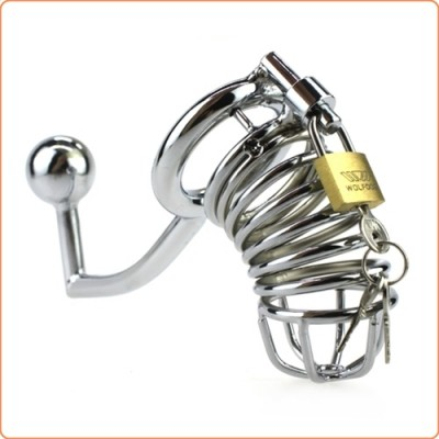 Wholesale The Jail House Chastity Device With Anal Intruder