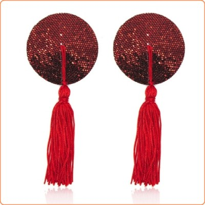 Wholesale Cobweb Sequins Nipple Pasties