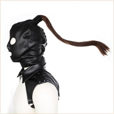 Wholesale Bondage Hood With Wig