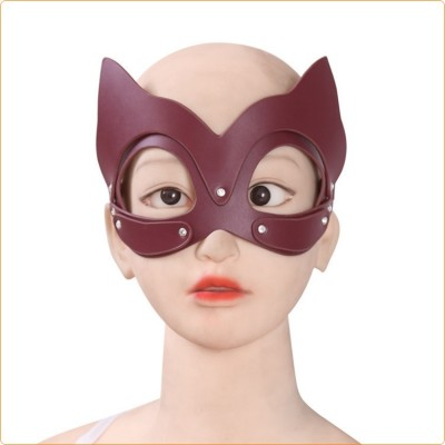 Wholesale Cowhide Fox Mask