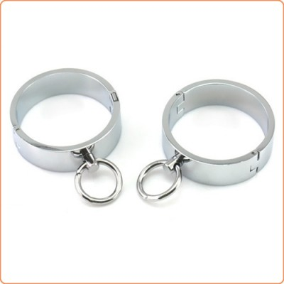 Wholesale Ellipse Stainless Steel Heavy Duty Wrist Restraints