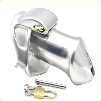 Wholesale Built-in lock Chastity Cock Cage - Long