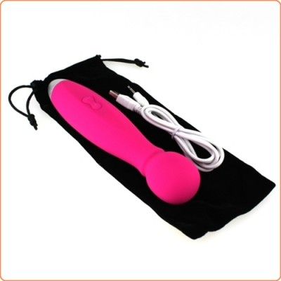 Wholesale Insertable Lithium Silicone Wand Massager