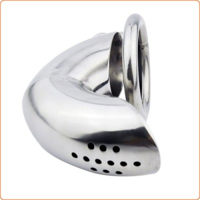 Wholesale Get Bent Locking Cock Cage Chastity