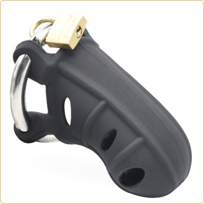 Wholesale Silicone Male Chastity Device With Adjust Ring