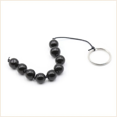 Wholesale Nine Plastic Ball Anal Beads