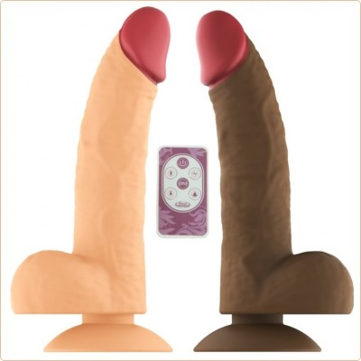 Wholesale Heating Wireless Realistic Dildo - 6.8""