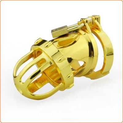 Wholesale Gold Kinger Male Chastity Device