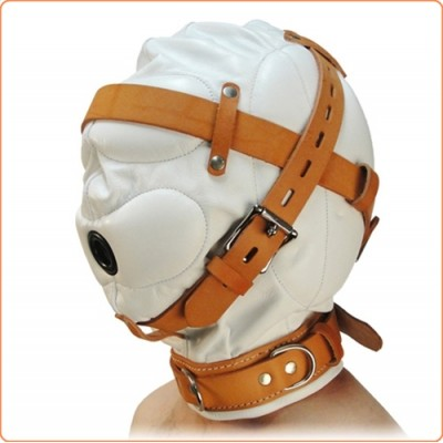 Wholesale Medical Fetish Padded Locking Hospital Restraint Hood