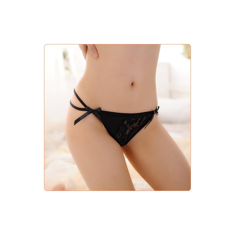 Wholesale Hot Selling Floral Lace And Mesh Splicing T-string