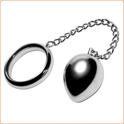Wholesale Stainless Steel Cock Ring and Anal Plug