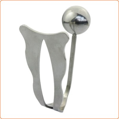 Wholesale Stainless Steel Anal Plug with Chastity Plate