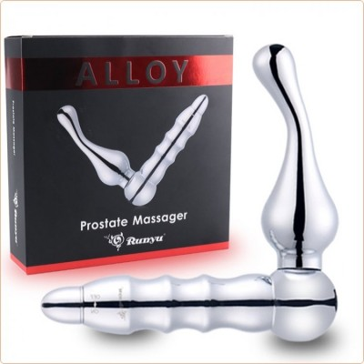 Wholesale Alloy Metal Vibration Prostate Massager