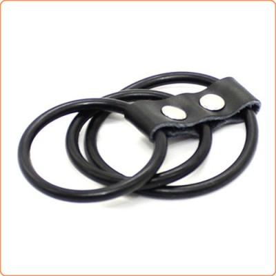 Wholesale Triple Cock Ring Harness