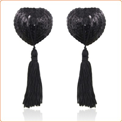 Wholesale Heart Shaped Sequin Pasties