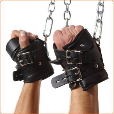 Wholesale Strict Leather Premium Suspension Wrist Cuffs