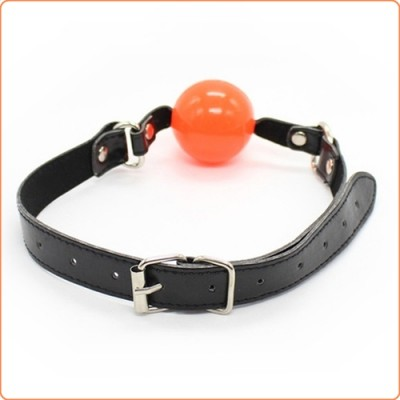 Wholesale Pin Buckle O Ring Black Strap Ball Gag