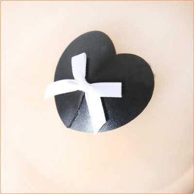 Wholesale White Bows Heart Pasties