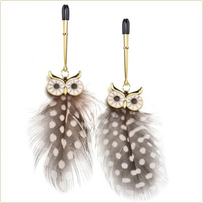 Wholesale Owl Pendant Nipple Clamp