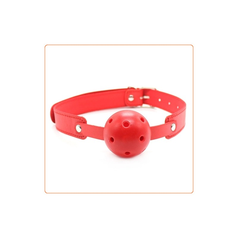 Wholesale Rolling Buckle Breathable Deluxe Ball Gag
