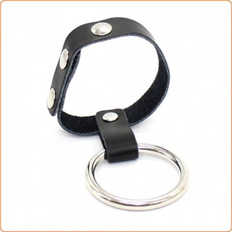 Wholesale Sigle Layer Steel Cock and Ball Ring