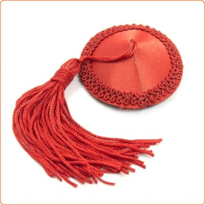 Wholesale Satin Lace Nipple Covers With Tassels