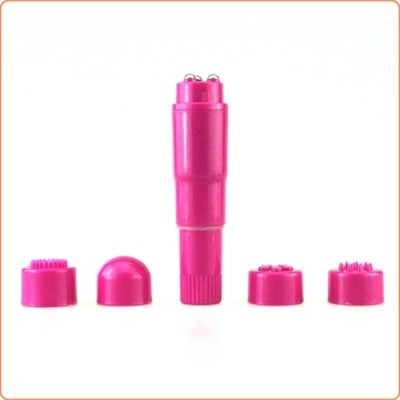 Wholesale Waterproof Mini Massager In Red