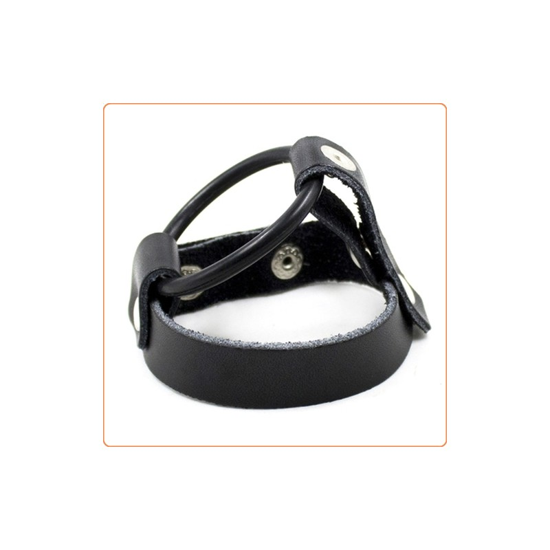 Wholesale Cock Ring Harness With Ball Divider - Single Layer