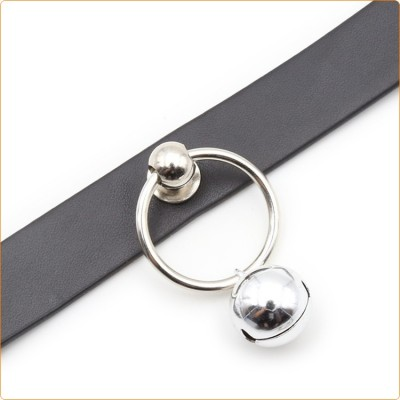 Wholesale Pin Buckle Neck Collar With Bell
